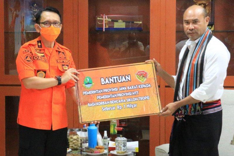 Jawa Barat salurkan Rp1 miliar bantu korban bencana Seroja di NTT