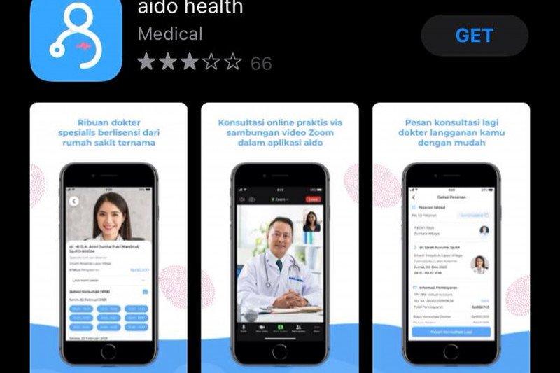 Aplikasi telemedisin aido health tambah fitur baru