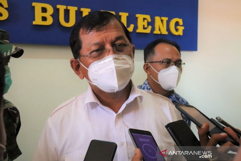 Pemkab Buleleng bangun pos sekat di Pejarakan jelang larangan mudik