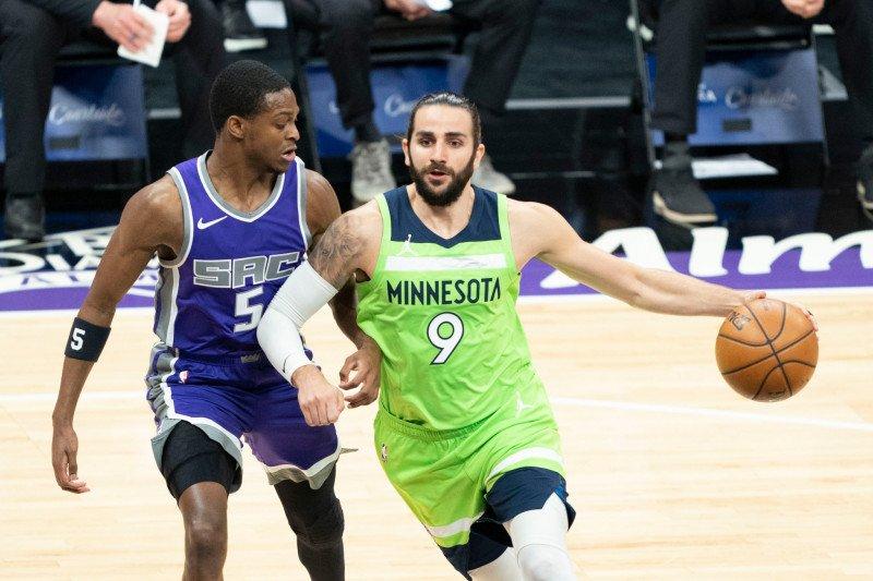 Timberwolves petik kemenangan 134-120 atas Sacramento Kings