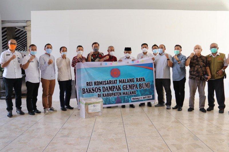 REI Malang Raya salurkan bantuan untuk korban gempa bumi