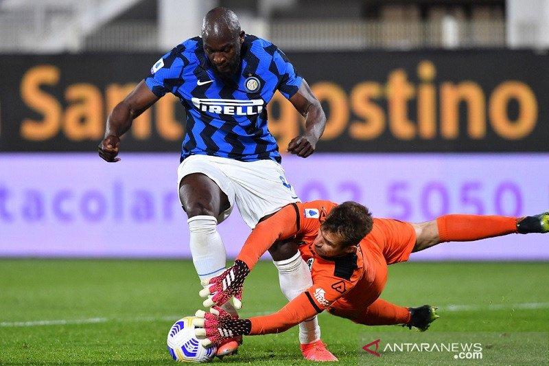 Diimbangi Spezia, Inter gagal tegaskan keunggulan di puncak
