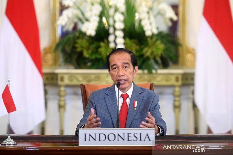 Presiden Jokowi sampaikan 3 pandangan pada KTT Perubahan Iklim