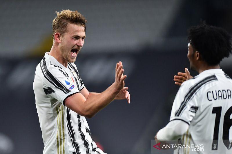 Juventus akhirnya memetik kemenangan pertama