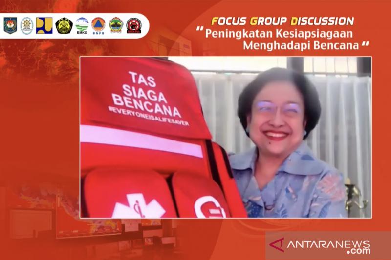 Megawati: Antisipasi bencana perlu perencanaan detail dan terorganisir