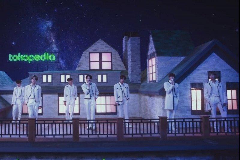 BTS tampil santai bawakan