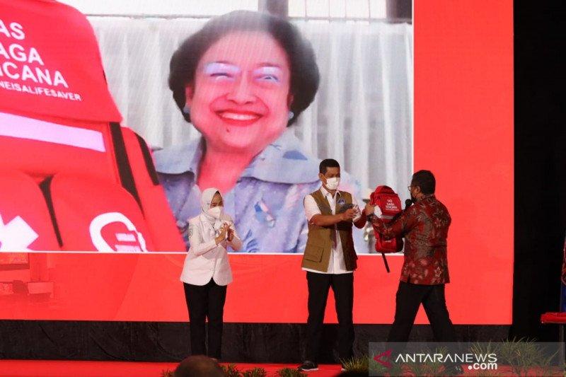 Megawati canangkan Gerakan Budaya Siaga Bencana yang diinisiasi BMKG