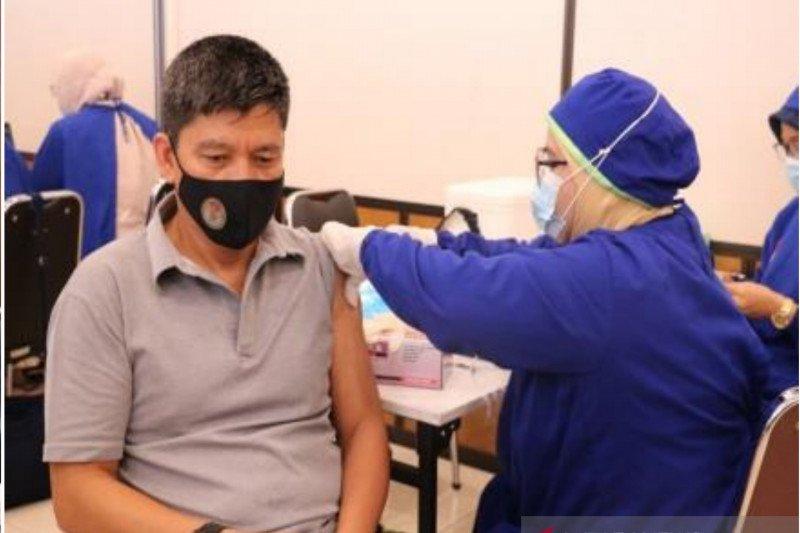 Setjen Wantannas vaksinasi pegawai tahap kedua
