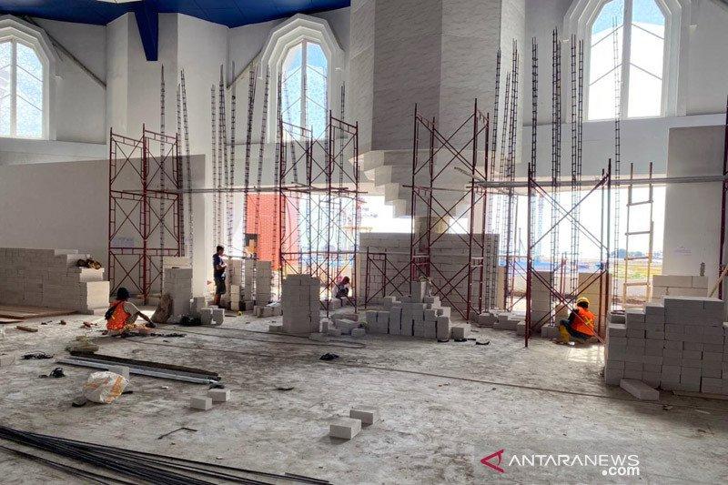 Pembangunan Masjid 99 Kubah Makassar dijadwalkan rampung tahun 2022
