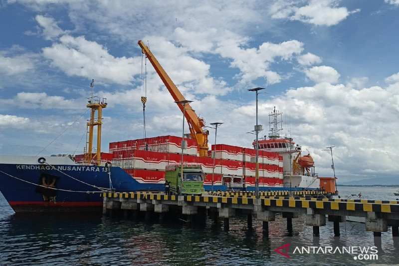 Luhut dorong inovasi untuk tingkatkan muatan balik tol laut