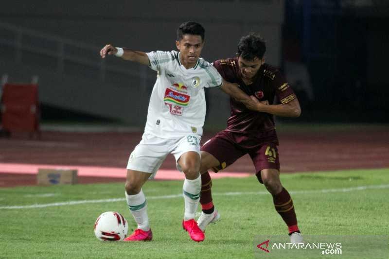 10 pemain PSS tundukkan PSM demi rebut tempat ketiga Piala Menpora