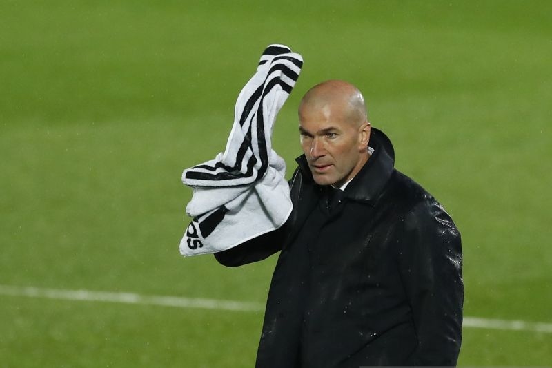 Zidane sebut Real Madrid kehilangan ketajaman saat diimbangi Betis