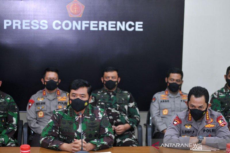 Panglima TNI usulkan kenaikan pangkat 53 prajurit KRI Nanggala-402