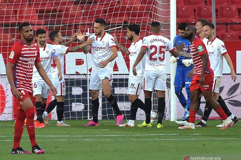 Menang 2-1 atas Granada, Sevilla tetap dalam persaingan gelar La Liga
