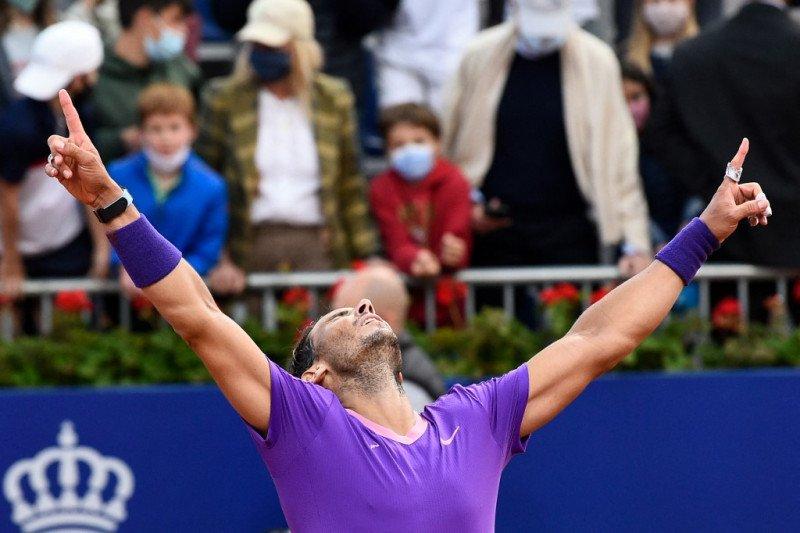 Kemenangan Nadal di Barcelona tandai kematangan di ajang tanah liat