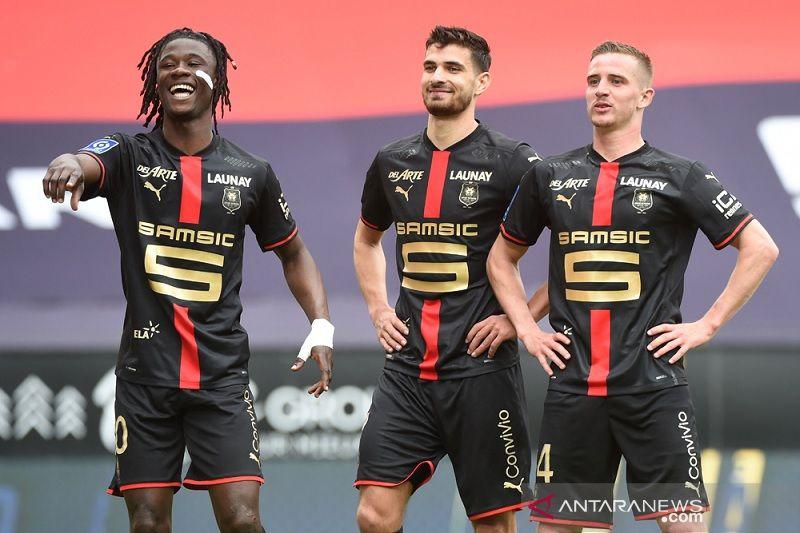 Rennes kirim Dijon terdegradasi ke kasta kedua Liga Prancis