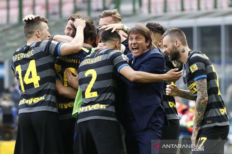 Conte yakin Inter sudah 95 persen scudetto