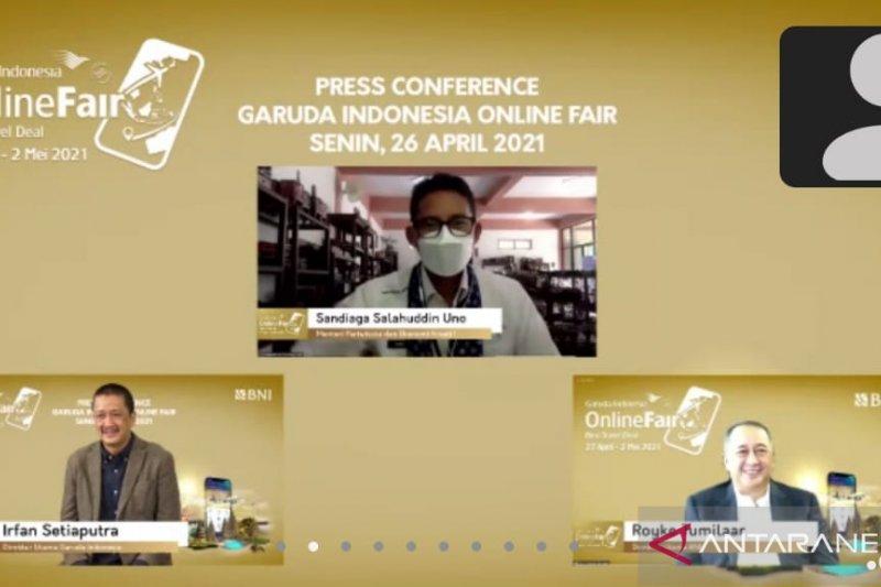 Garuda Online Travel Fair II dorong kebangkitan sektor pariwisata