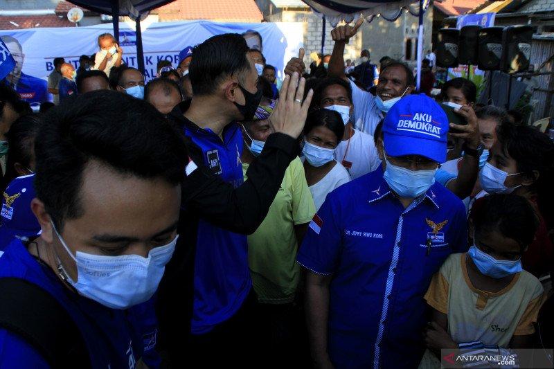 AHY dorong pemerintah pusat percepat relokasi korban bencana alam