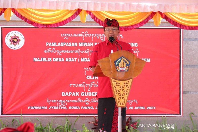 Gubernur: 696.356 warga Bali sudah divaksinasi COVID-19 tahap pertama