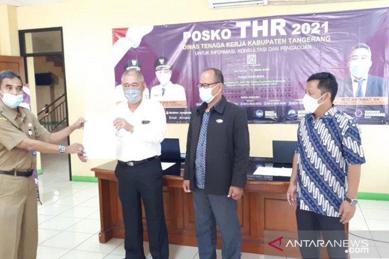 Disnaker Tangerang terima 50 aduan terkait THR Lebaran
