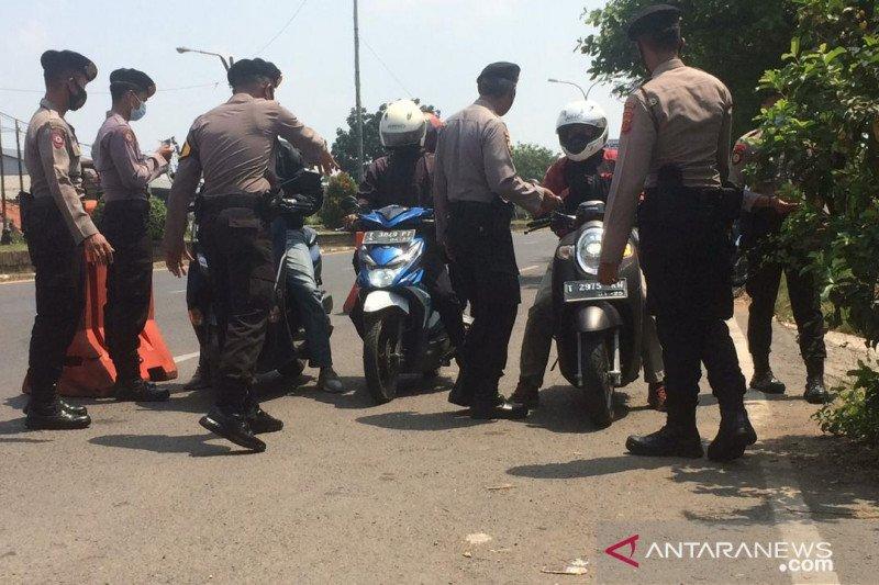 Polisi memperketat arus mudik dari Jakarta ke Karawang