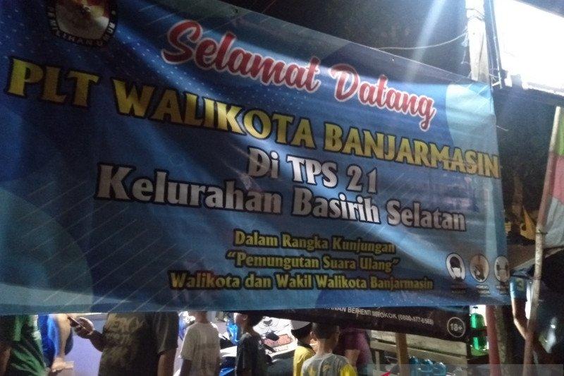 KPU dan Bawaslu Pusat pantau langsung kesiapan PSU Pilkada Banjarmasin