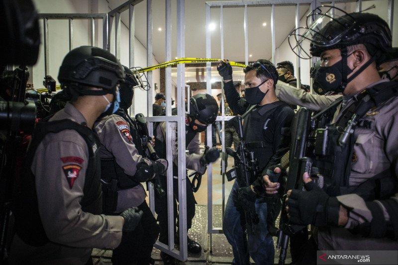 Polisi tegaskan penangkapan Munarman terkait aksi terorisme