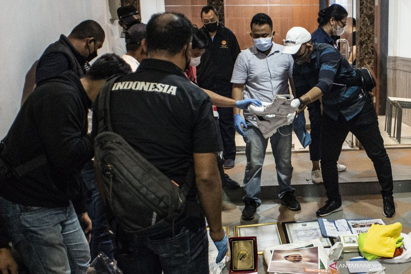 Polisi sebut bahan peledak di Petamburan mirip temuan di Condet