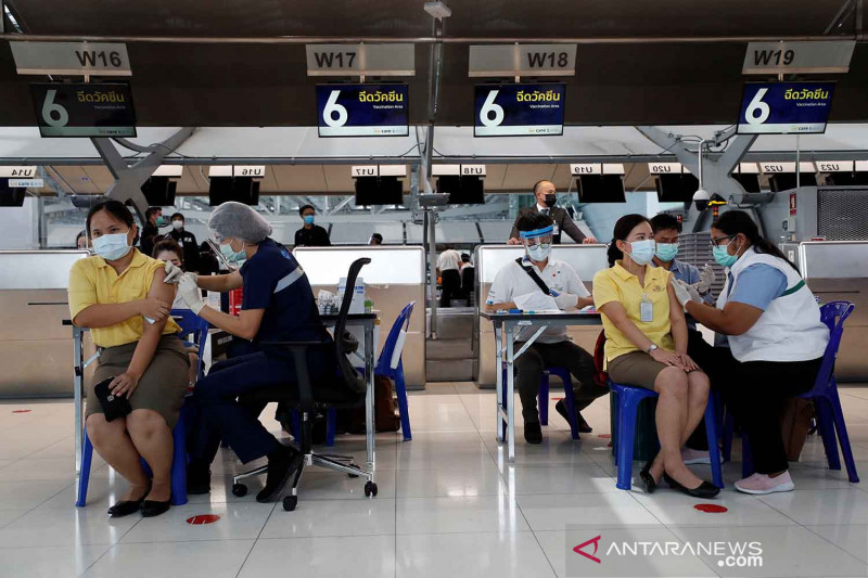 Thailand akan terima 3,5 juta dosis vaksin Sinovac pada Mei
