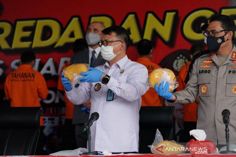 Kemenkumham bantu ungkap 2,5 ton narkoba jaringan internasional