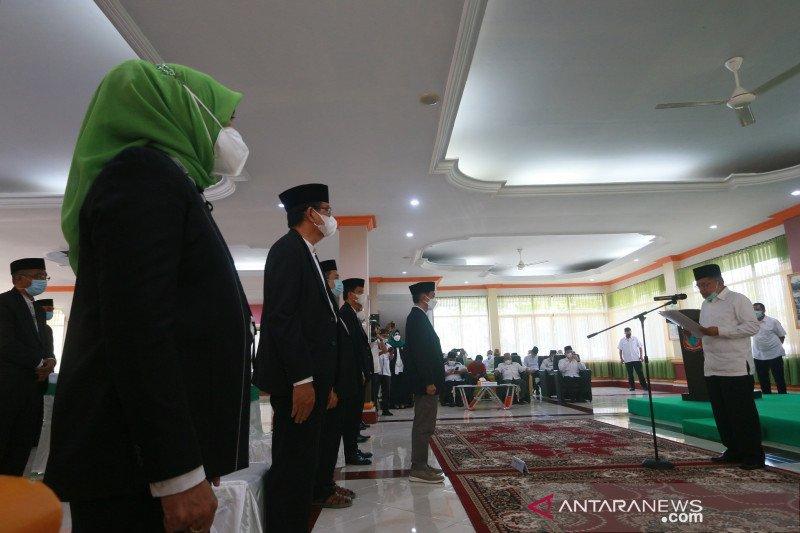 Jusuf Kalla lantik Nelson Pomalingo pimpin DMI Gorontalo