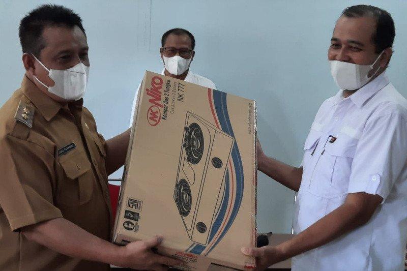 Pemkab Bantul salurkan bantuan fasilitas selter COVID-19 kelurahan