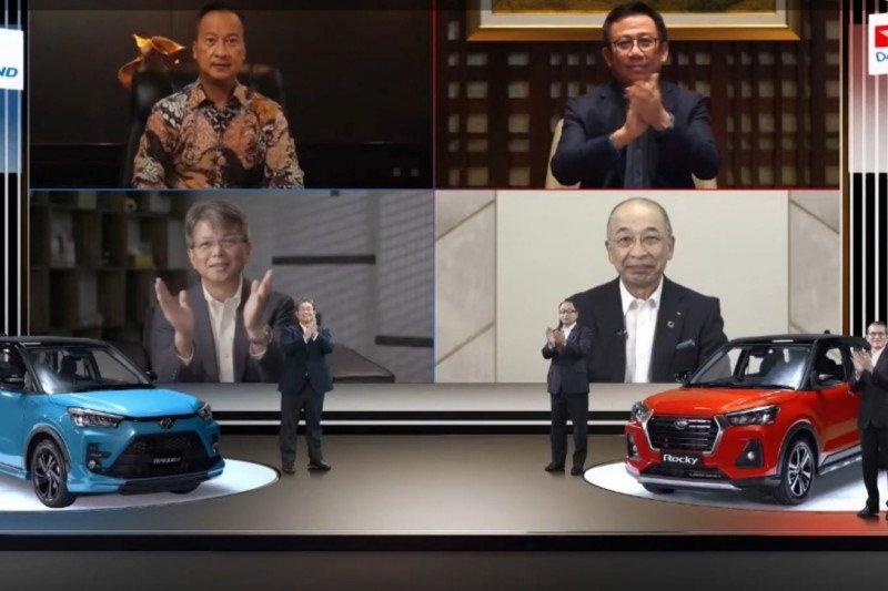 Toyota Raize dan Daihatsu Rocky resmi diperkenalkan di Indonesia