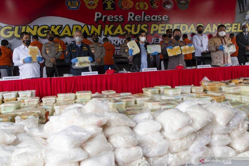Sri Mulyani: Sinergi Kemenkeu berantas penyeludupan narkotika