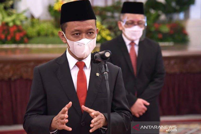 Bahlil siap penuhi permintaan Jokowi raih investasi Rp900 triliun