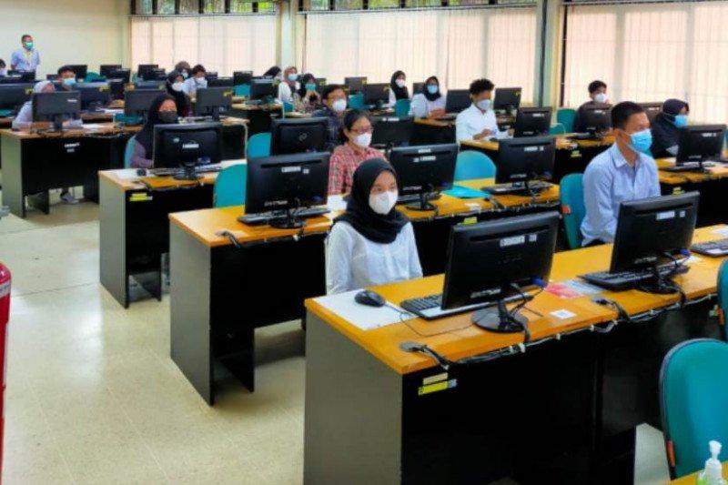 Pelaksanaan UTBK-SBMPTN UI hari ke-2 diikuti 3.628 peserta
