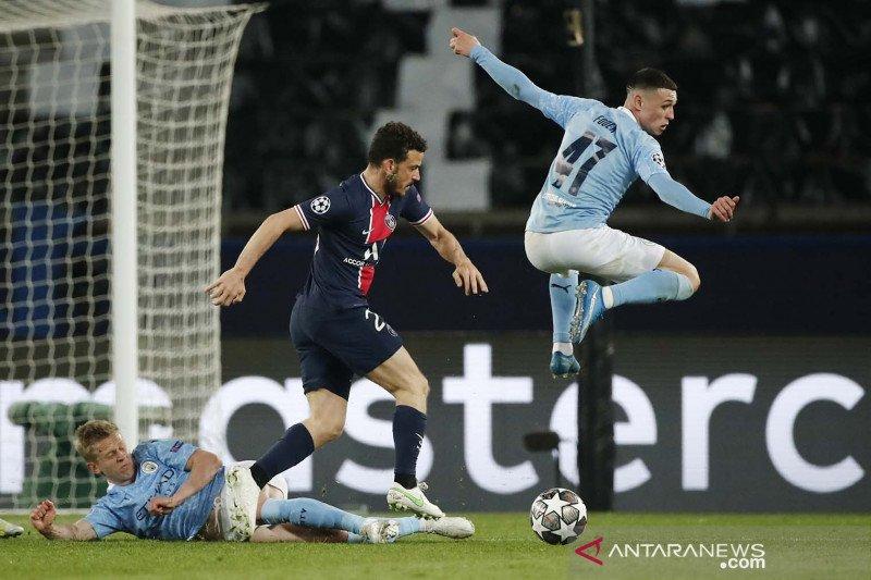 Liga Champions: Manchester City kalahkan Paris St Germain 2-1