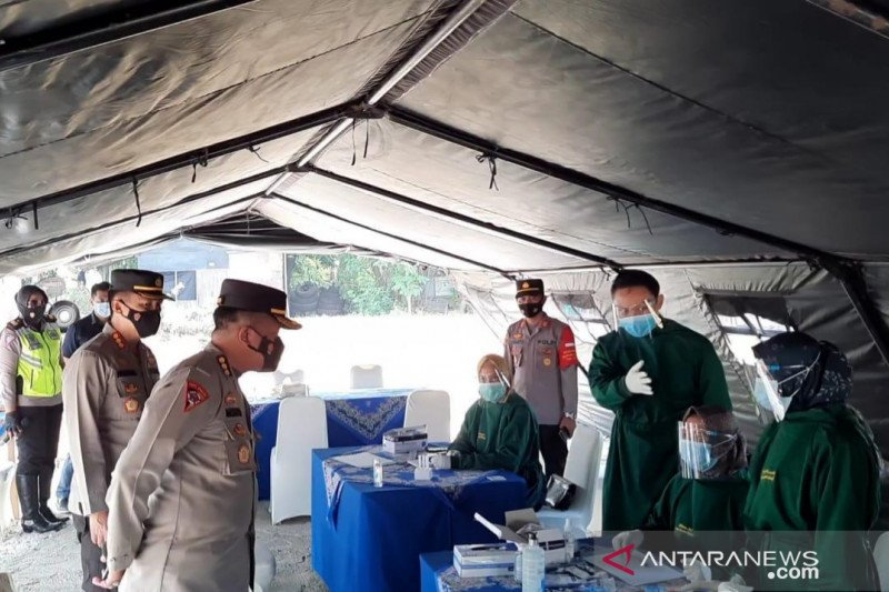 Polda Metro perketat titik sekat mudik Kabupaten Bekasi