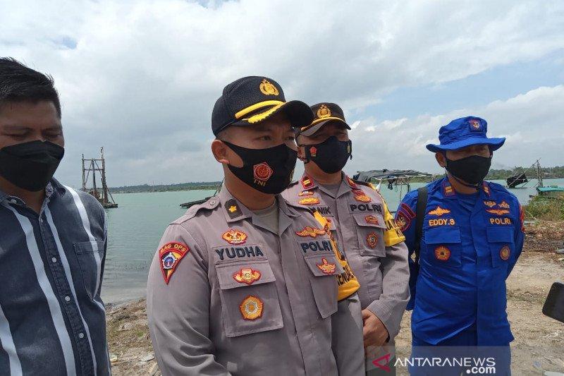 Polda Babel menertibkan penambangan timah ilegal di Bangka Tengah