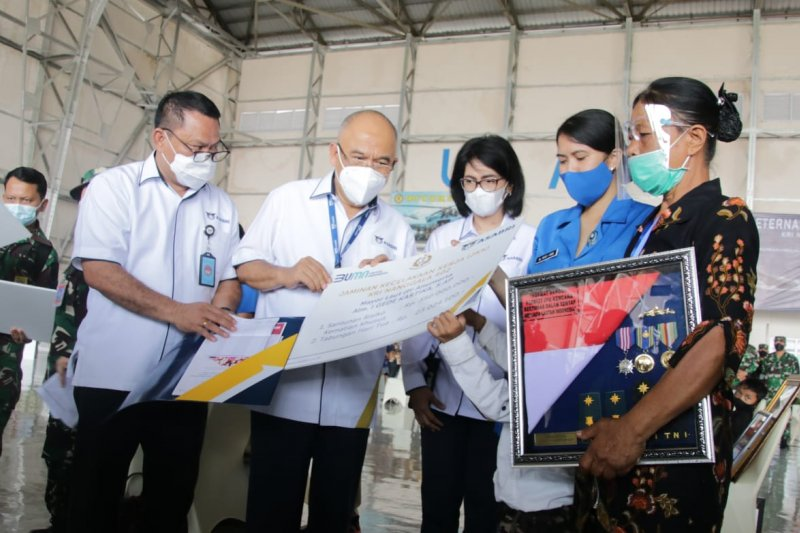 Asabri serahkan Rp20,79 miliar kepada ahli waris korban KRI Nanggala