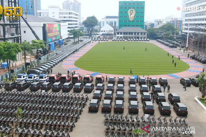 Kasad serahkan 547 kendaraan dinas baru ke satuan-satuan TNI AD