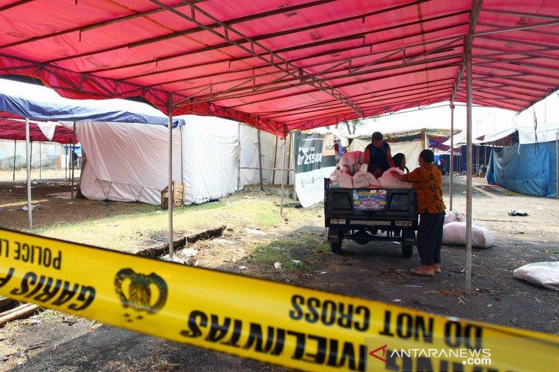 Bazar ramadhan di Pamulang ditutup petugas gabungan