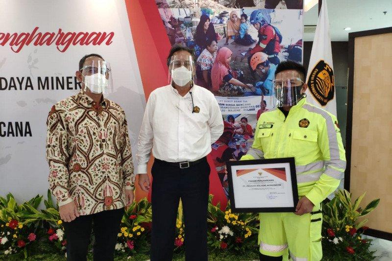 Menteri ESDM beri penghargaan tim respons darurat bencana JRBM