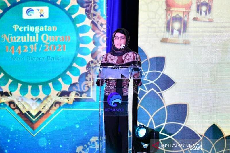 Kominfo ajak warganet bicara baik di bulan Ramadhan