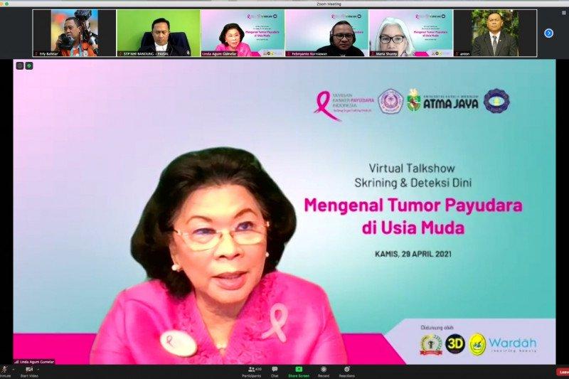 Linda Gumelar: Pentingnya edukasi generasi muda bahaya kanker payudara