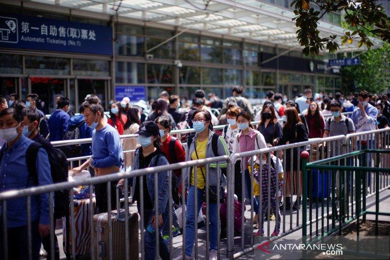 China laporkan 25 kasus baru COVID, tertinggi sejak 2 April