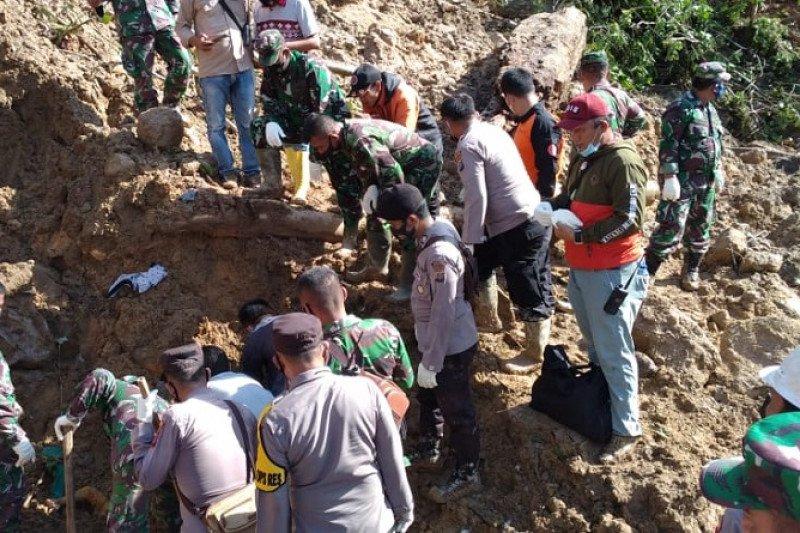 BPBD Tapanuli Selatan: Tiga korban longsor ditemukan tewas