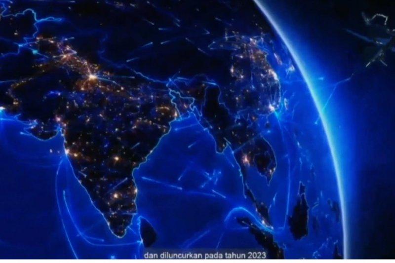Indonesia amankan slot orbit satelit Satria-1
