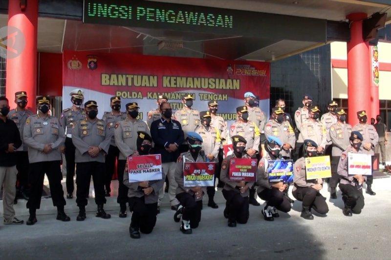 Kapolda Kalteng lepas bantuan kemanusiaan untuk bencana NTT